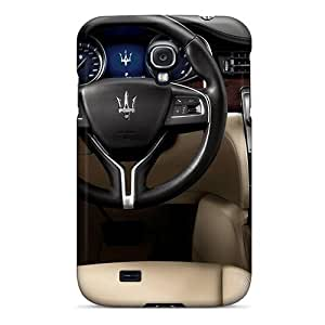 Snap-on Case Designed For Galaxy S4- Maserati Interior