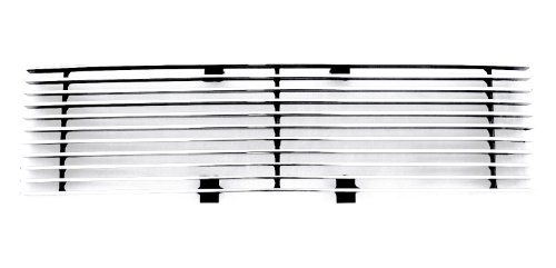 TRex Grilles 25569 Horizontal Aluminum Polished Finish Billet Bumper Grille Bolt-on for Ford F150 ()