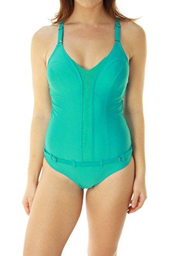 Oakley Women's One Piece Bathing Suit-Small Aqua - For Sale Oakley Cheap