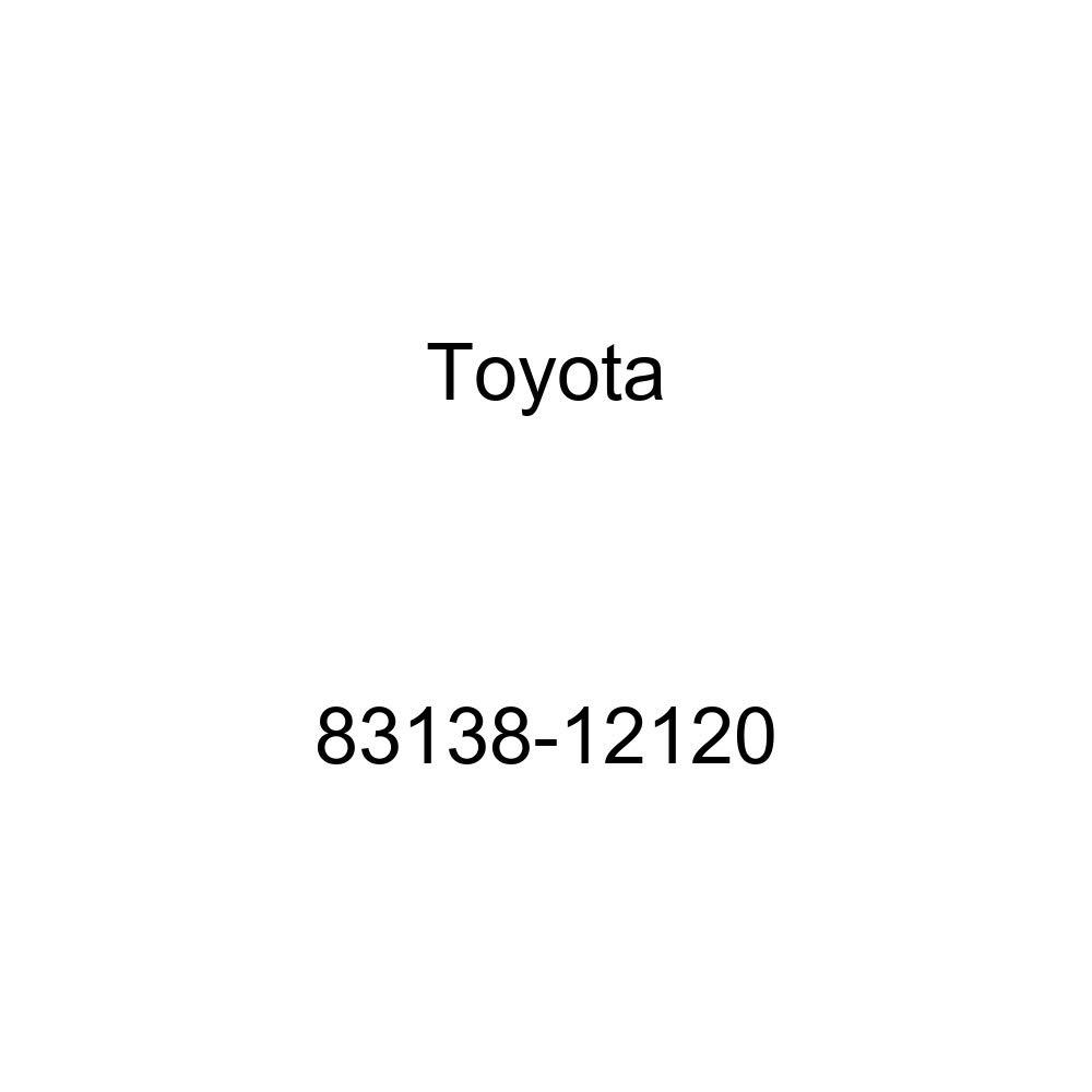Toyota 83138-12120 Speedometer Glass