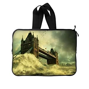 Bridge Of London England Twin Sides Laptop Sleeve / Laptop Bag / Laptop Cover / Laptop Sleeve Macbook Air For MacBook Pro 13