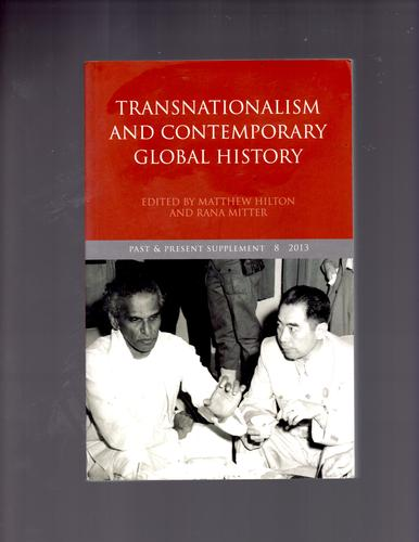 Download Transnationalism and Contemporary Global History (Past and Present Supplement) pdf