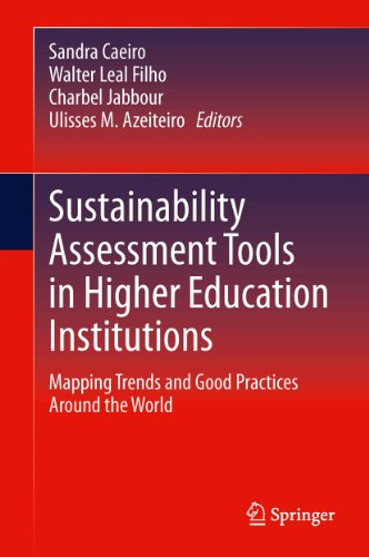 Sustainability Assessment Tools in Higher Education Institutions: Mapping Trends and Good Practices Around the World (Power Tools Trend)