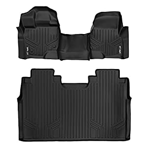 MAX LINER A0212/B0188 for Ford F-150 2015-2020 SuperCrew Cab with 1st Row Bench Seat, Black