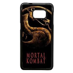 Alta resolución Mortal Kombat cartel Samsung Galaxy Note 5 Edge caja del teléfono celular funda Negro caja del teléfono celular Funda Cubierta EEECBCAAL70442
