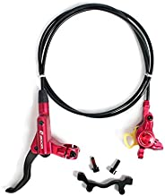 BUCKLOS 【US Stock MTB Hydraulic Disc Brakes, Aluminum Alloy Right Front Left Rear Disc Brake Levers, Fit for M