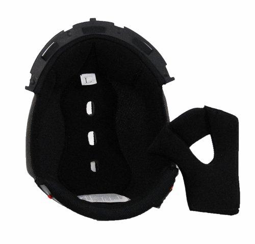 Raptor Junior Off-Road Helmet (Black, Large)