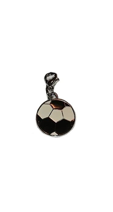 Amazon.com: Clip On Balón de fútbol Encanto: Pam Jewelry ...
