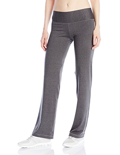 Champion Women's Absolute Semi-Fit Pant with Smoothtec Waistband, Granite Heather, Small