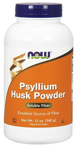 NOW Psyllium Husk Powder, (Psyllium Husks Fiber Powder)