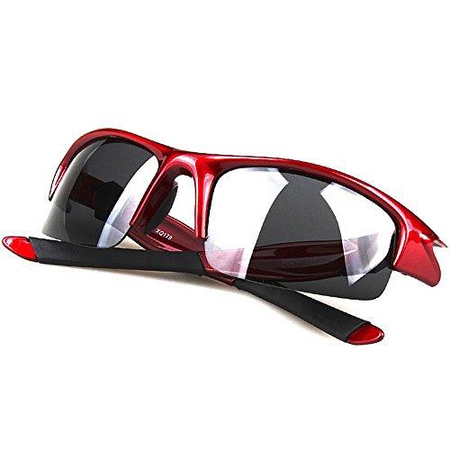 LBY Negro Gafas para Red Al Libre Color Gafas De Sol Polarizadas 179 de Montar De XQ Gafas Conducción Deporte Gafas Hombre De Aire r1qZwBrx