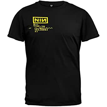 Nine Inch Nails - Tour Logo T-Shirt - Large