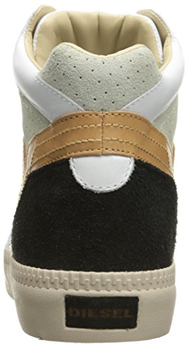 White Fashion S V Sneaker Men Cuoio Spaarrk Mid Diesel RqXx0HEw