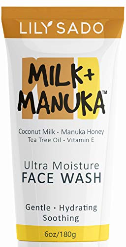 LILY SADO Coconut Milk & Manuka Honey Natural Face Cleanser...