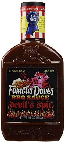 Little Devil Bib - Famous Dave's Devils Spit Bib Sauce, 19 oz