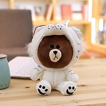 2269cc074d214 GOOGEE Stuffed   Plush Animals - Brown Bear Plush Toy Korean Bear in  Dinosaur Pig