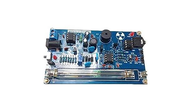 Montado DIY Kit de Contador Geiger detector de radiación Nuclear gm tubo: Amazon.es: Industria, empresas y ciencia