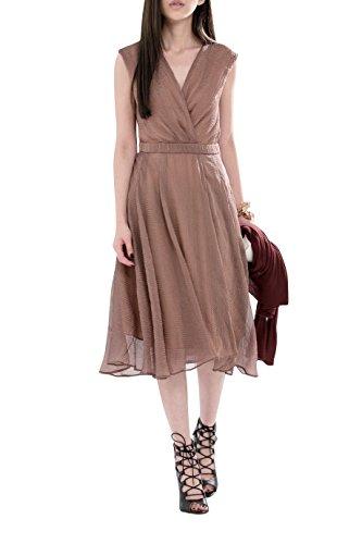 Everyday Elegance Women's Flowy Ruffle Summer Dress (Medium, Pink Taupe) (Sailor Outfit Ebay)