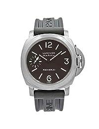 Panerai Luminor Marina Mechanical-Hand-Wind Male Watch PAM00118 (Certified Pre-Owned)