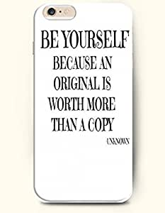 iPhone Case, SevenArc iPhone 6 (4.7) Hard Case **NEW** Case with the Design of be yourself because an original is...