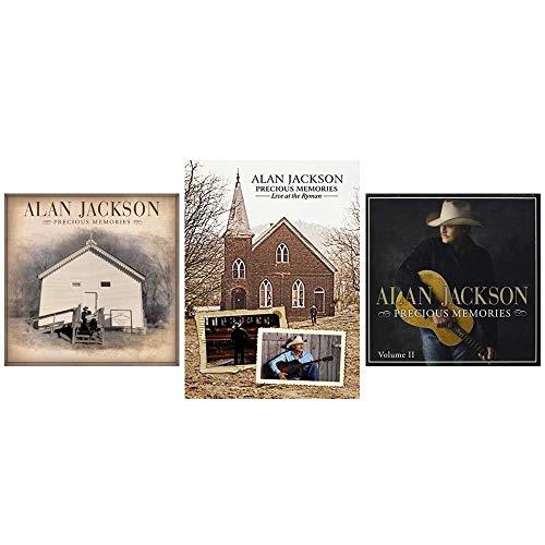 Alan Jackson: Precious Memories Volumes 1 & 2 CDs + Live at the Ryman DVD (Cd Alan Christmas Jackson)