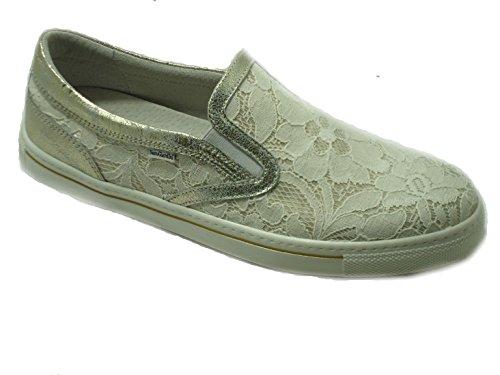 Nero Giardini - Zapatillas para niña beige champán