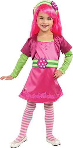 Rubies Strawberry Shortcake and Friends Deluxe Raspberry Tart Costume, Medium