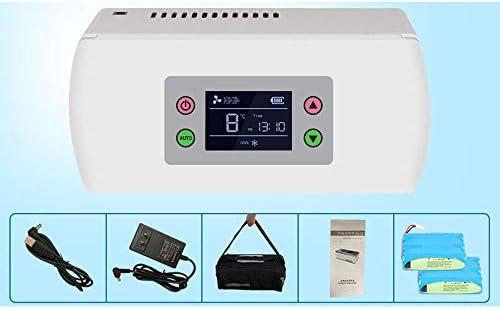 LXMBox Congelador de insulina/Mini refrigerador/refrigerador de ...