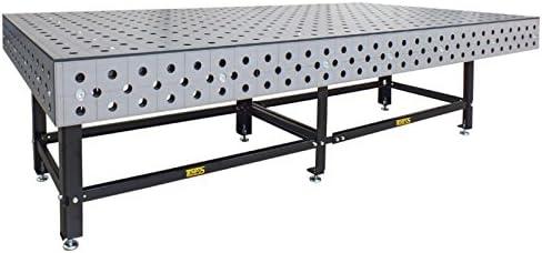 Mesa con agujeros en ·D, mesa de soldadura, mesa de trabajo, 100 x ...