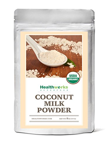 Yogurt Milk Coconut (Healthworks Coconut Milk Powder Organic (Dairy Free), 8oz)
