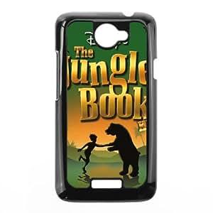HTC One X Cell Phone Case Black Jungle Book 008 KI5863597
