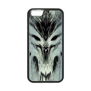 Diablo for iPhone 6 Plus 5.5 Inch Cell Phone Case & Custom Phone Case Cover R69A651345