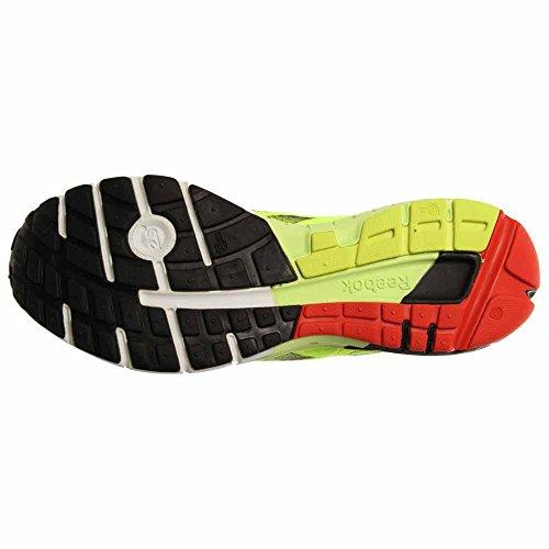 Reebok One Guida Mens Running Shoe Nero-giallo-rosso