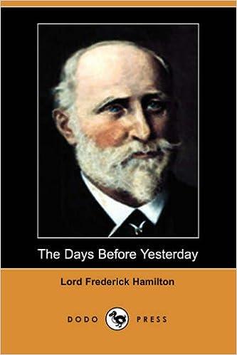 Lord Frederic Hamilton