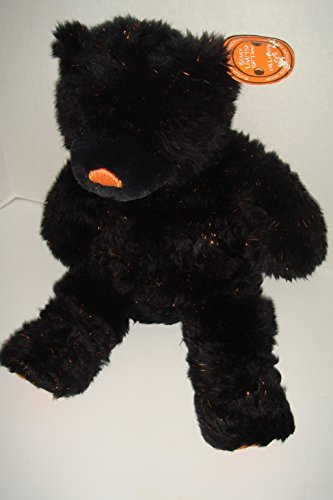Build a Bear Halloween Cat Cub Beary Plush Black Sparkle Rare Limited (Black Cat Limited Edition)