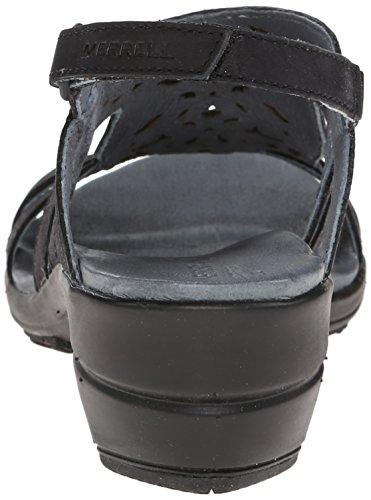 Merrell Womens Veranda Lien Sandale Noir
