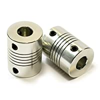OctagonStar Flexible Couplings 5mm to 8mm NEMA 17 Shaft for RepRap 3D Printer or CNC Machine?2PCS? from OctagonStar