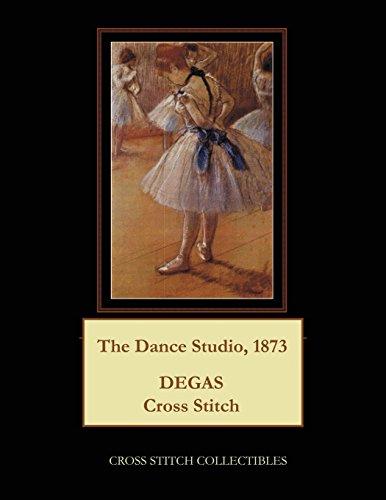 The Dance Studio, 1873: Degas Cross Stitch Pattern