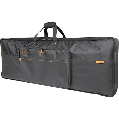 Roland 49-key Keyboard Bag with Backpack Straps, Black Series (CB-B49) by Roland