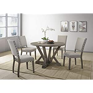 41DxhliSW-L._SS300_ Coastal Dining Room Furniture & Beach Dining Furniture