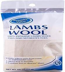 Premier Value Lambs Wool 3.8oz - 3.8oz
