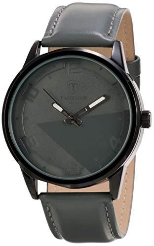 Relógio Masculino Tuguir Analógico 5050 - Cinza e Preto