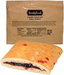 product image for Bridgford Cherry Turnover - MRE Survival Food Storage Ready To Eat Meals - 3 Pack …