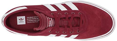 adidas Originals Men's adi-Ease, Collegiate Burgundy/White/Gum 5.5 M US by adidas Originals (Image #7)