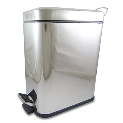 Alteze High Quality Stainless Steel Dustbin Eco Friendly Foot Operated Pedal Bin by CIY-cookityourself