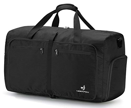 NEEKFOX Foldable Travel Duffel Bag Large Sports Duffle Gym Bag Packable Lightweight Travel Luggage Bag for Men Women (60L) – DiZiSports Store