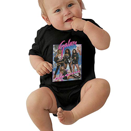 Fifth Harmony Unisex Baby Boy Girl Bodysuits Short Sleeve Infant Cotton Clothes for 0-24 Month 0-3M Black]()