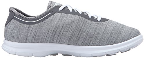 Walking Step Performance Womens Sport Shoe Heather Skechers Gray Go qPX1wnaa