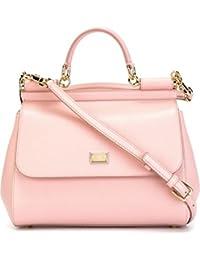 Women's BB6002A10018H402 Pink Leather Handbag