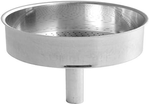 Aluminio Embudo de recambio para cafetera expr/és Bialetti Moka Express 9 tazas